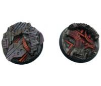 Derelict Bases Round 40mm (2pieces)