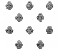 Night Lords Legion Terror Squad Upgrade Pack - Heads