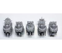 Dark Angels Legion Inner Circle Knights Cenobium - Torsos