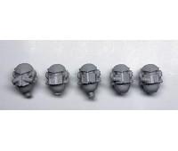 Heads - Death Guard Deathshroud Terminators