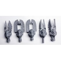Heads - Dark Angels Legion Deathwing Companions