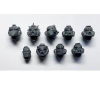 Heads - Vanguard Veteran Squad