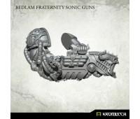 Bedlam Fraternity Sonic Guns (4pc)