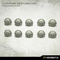 Legionary Shoulder Pads Dragon Pattern