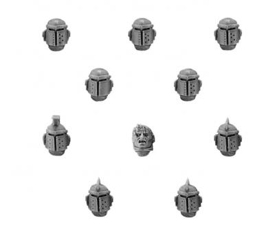 World Eaters Legion MKII Upgrade Set - Heads