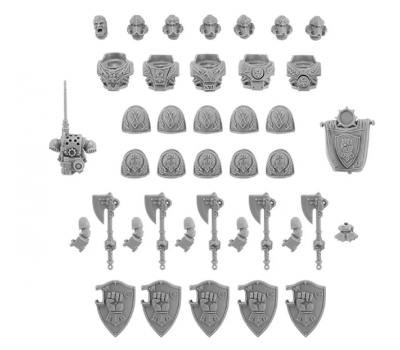 Imperial Fists Legion Phalanx Warder Squad Upgrade Set