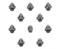 Word Bearers MKIV Upgrade Pack - Heads