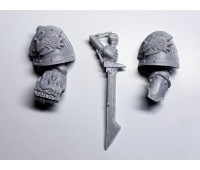 Salamanders Legion Pyroclasts - fist and sword