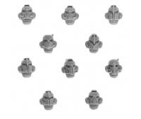 Alpha Legion Mk IV Heads