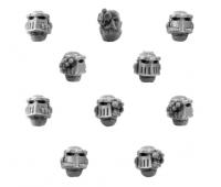 Iron Hands Legion Upgrade Set - Heads