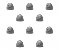 Emperor's Children Legion MKIV Shoulder Pads