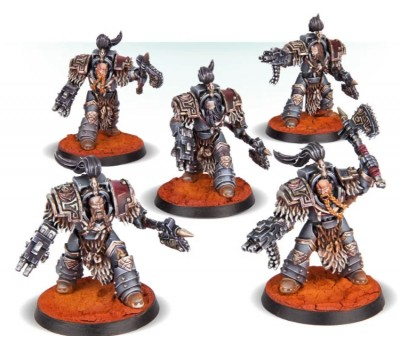 Space Wolves Legion Varagyr Terminators
