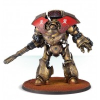 Legio Custodes Telemon Heavy Dreadnought With Iliastus Accelerator Culverin