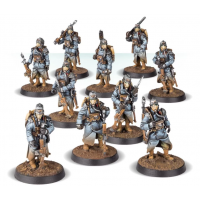 Infantry Squad At Ease
