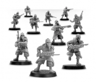 Infantry Squad Advancing