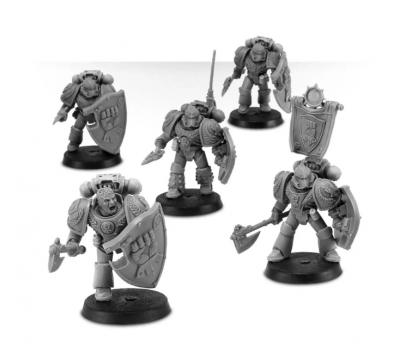 Imperial Fists Legion Phalanx Warder Squad