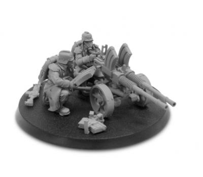Death Korps of Krieg Heavy Stubber Team