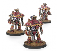 Adeptus Titanicus - Questoris Knights with Thunderstrike Gauntlets and Rocket Pods