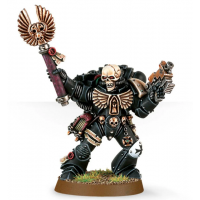 Chaplain with Skull Helmet