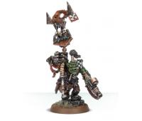 Ork Nob With Waaagh! Banner